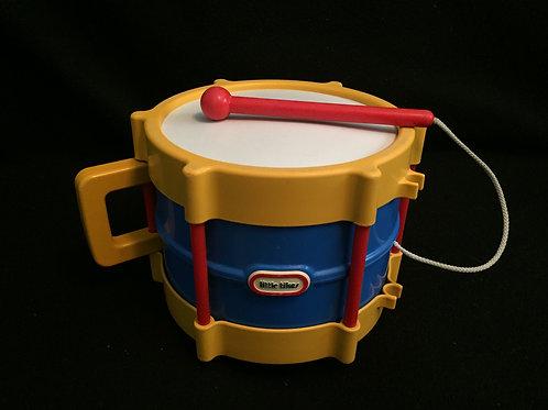 Little Tikes Turn Crank Tap a Tune Drum Vintage 89