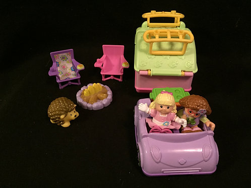 Fisher Price Little People - Camping Adventure