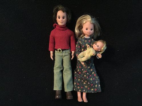 Mattel Sunshine Family dolls 1973 *Vintage