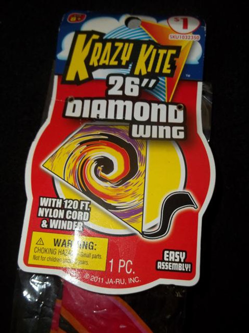 "Krazy Kite 26"" Diamond Wing *NEW IN PACKAGE"