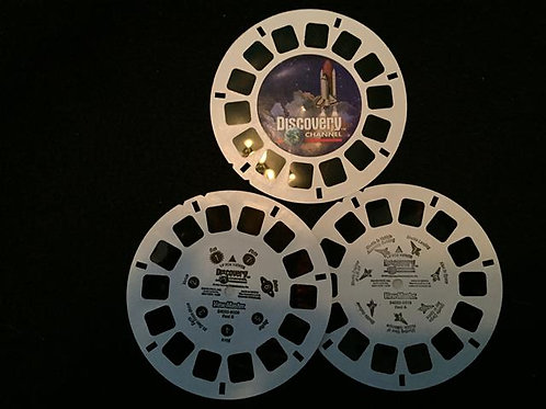 ViewMaster 3 Reel set - Discovery channel Space/So