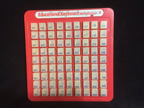 Educational Keyboard - Multiplication