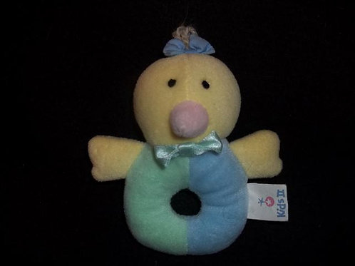 Kids II Plush Chicken Rattle - Washable