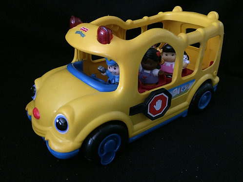 Little People: Lil' Movers School Bus YELLOW 2