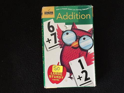 Addition Flash Cards - Golden Books
