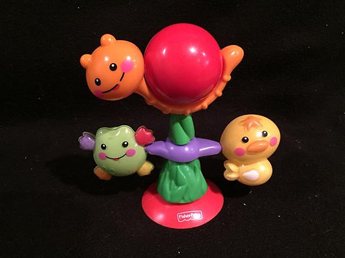 Fisher Price Suction Toy Snail/Frog/ Chick