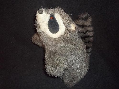 Furry Folk Raccoon Puppet -