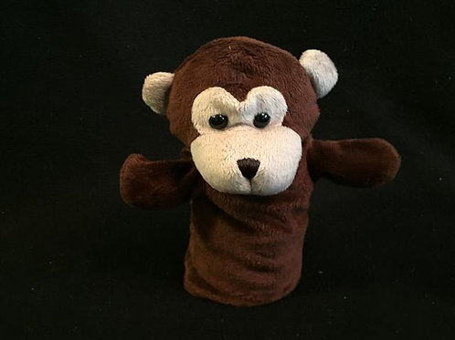 Restoration Hardware Plush Hand Puppet- Monkey