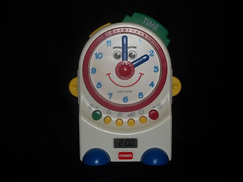 Playskool Teachin' Time Talking Clock Toy