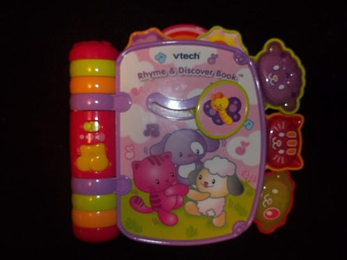Vtech Rhyme & Discover Book - Pink