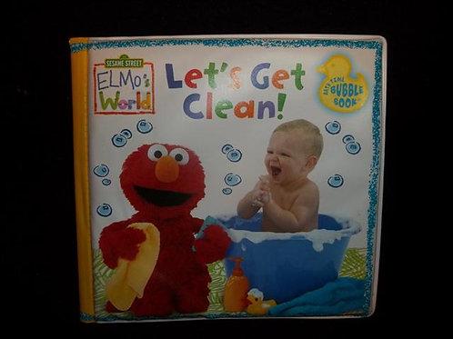 "Elmo's World ""Let's Get Clean!"" Bath Time  Book"