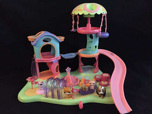 Littlest Pet Shop Whirl Around Playground Playset