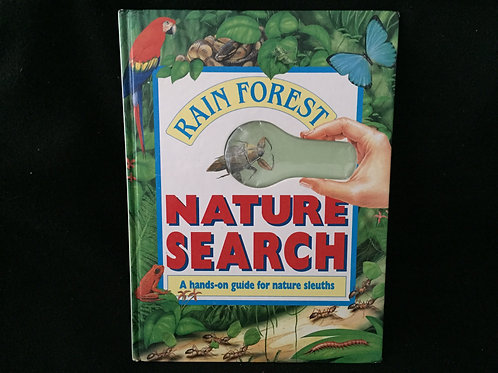 Nature Search Rainforest Hardcover