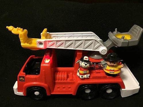 Little People Firetruck Rescue Rig