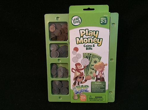 LeapSchool Play Money Coins and Bills *NEW