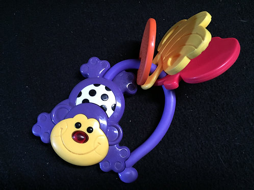 Musical Monkey Rattle/Teether