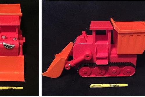 "Playskool Bob the Builder Vehicle Talking Muck 12"""