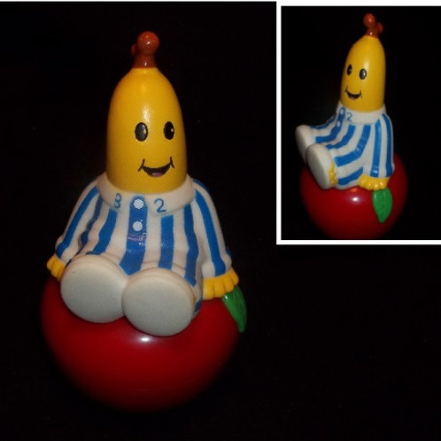 "Collectible Blue Striped ""Bananas in Pajamas"" Appl"