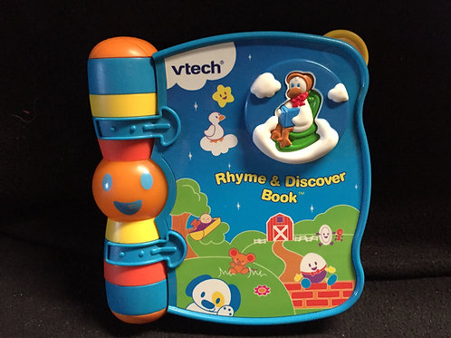 Vtech Rhyme & Discover Book - Blue