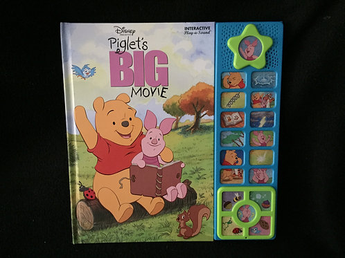 Piglet's Big Movie (Interactive Play-a-Sound)