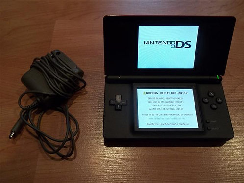 Nintendo DS Lite Crimson / Black- DS Lite