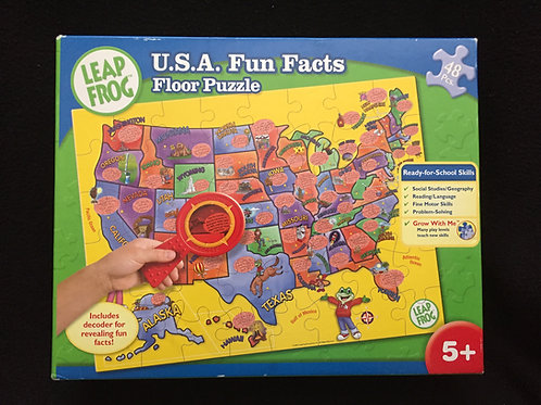 LeapFrog: Fun Facts of the U.S.A. Floor Puzzle