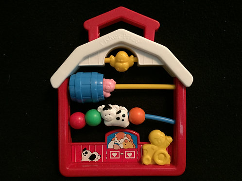 Fisher Price Discovery Beads Farmhouse #1061 (91)
