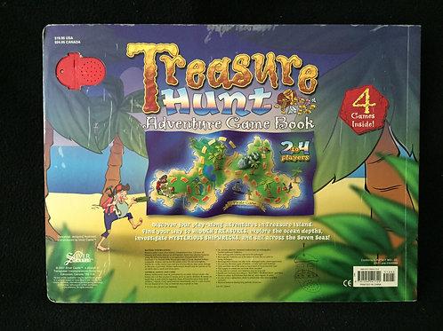 Treasure Hunt Adventure Game Book Hardcover