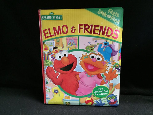 Sesame Street: Elmo and Friends (First Look and Find)