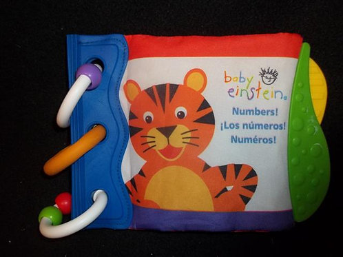 Baby Einstein Cloth Numbers book