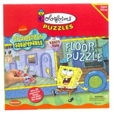 SpongeBob Squarepants Colorforms Floor Puzzle