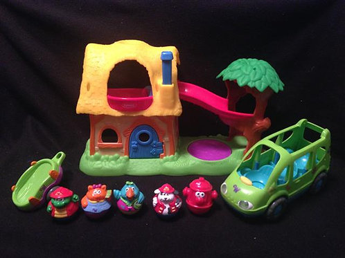 Weeble Set-Slide from the hayloft down
