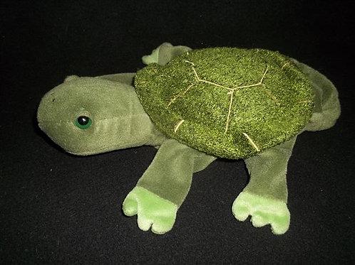 "Caltoy Turtle Puppet - 9"" Plush -"