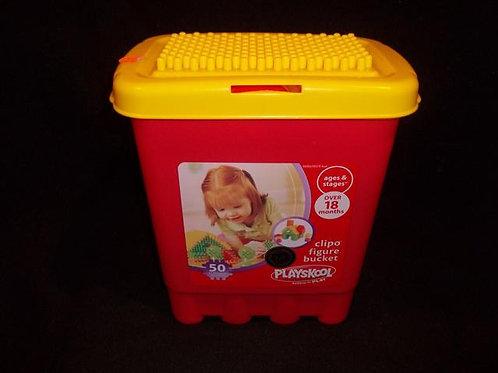 Playskool Clipo Figure Bucket