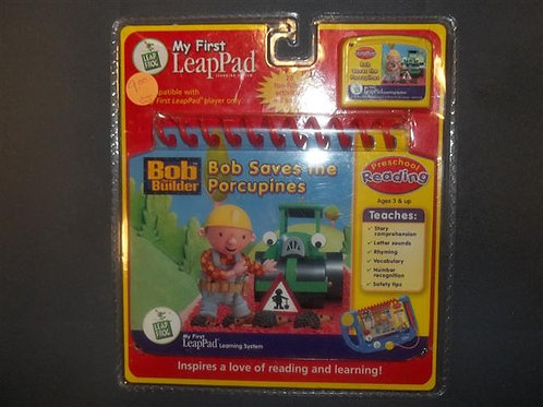 My First LeapPad Bob Saves the Porcupines *NEW