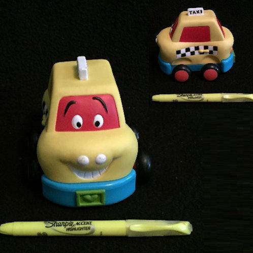 B. Wheeee Pull Back Car - Taxi