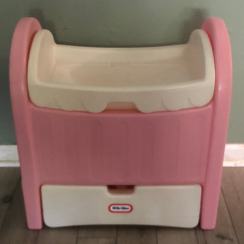 Little Tikes doll bed/cradle/storage