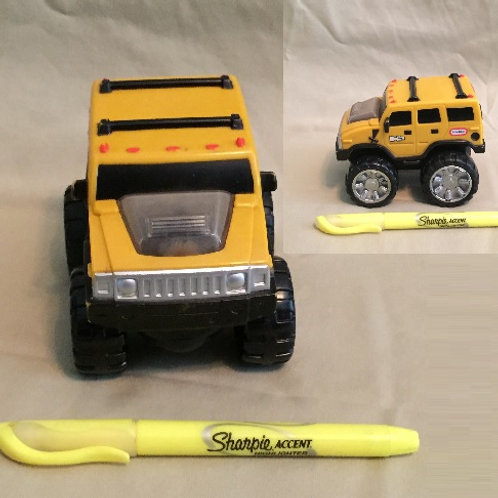 Little Tikes Racerz Hummer Pull Back Toy
