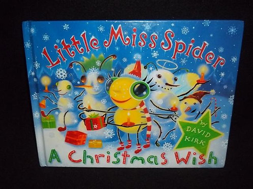 Little Miss Spider: A Christmas Wish HARDCOVER