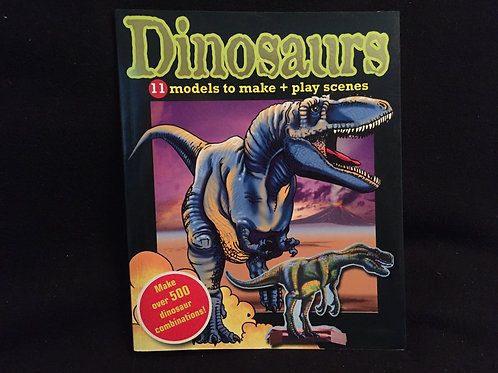 Dinosaurs, 11 Models to Make + Play Scenes *NEW