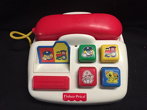 Fisher Price Ring 'n Rattle Phone