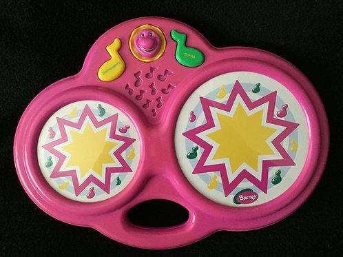 Playskool Barney Song Magic Music Bongos