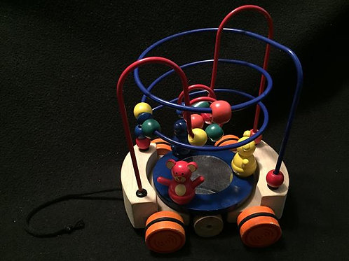 Imaginarium - Pull Along Bead Maze