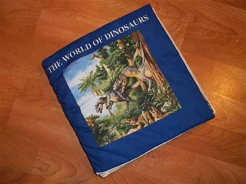 The World of Dinosaurs – Cloth book