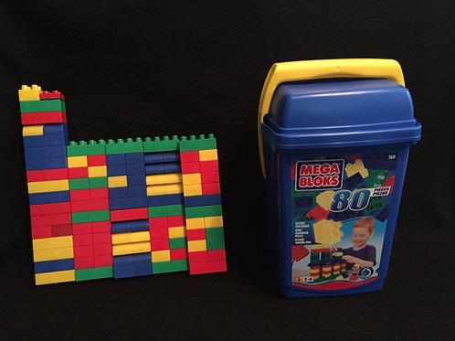 Mega Blok Duplo/Mega 100 Piece Block Set