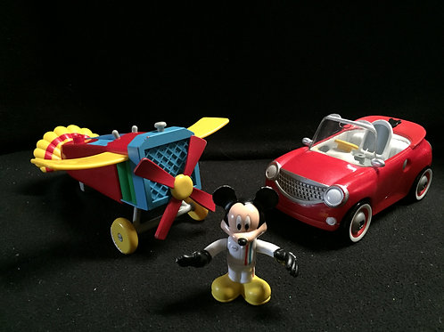 FIsher Price Mickey's Counting Car and Which Way Airplane