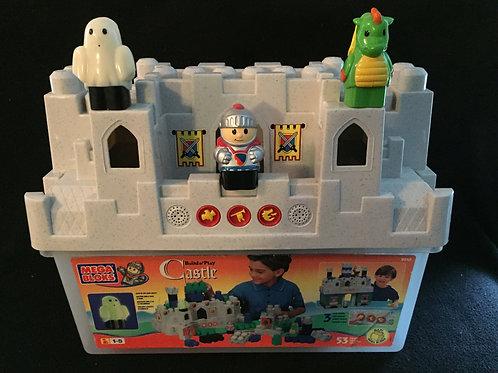 Mega Bloks Build n' Play Castle with magic sounds