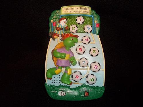 Franklin the Turtle's 1 2 3 Tri Language Learner
