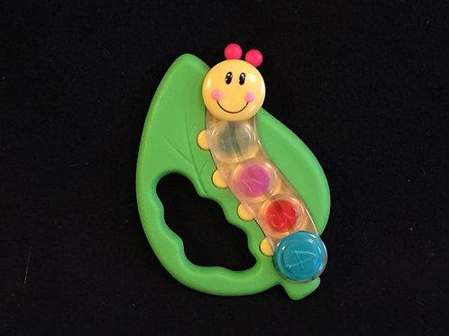 Baby Einstein Kids II Caterpillar Leaf Rattle