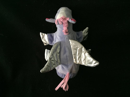 Battat-Purple-Pegasus-Hand-Puppet-9-Lavender-Shiny -